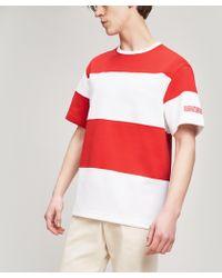 CALVIN KLEIN 205W39NYC - 205w39nyc Striped T-shirt - Lyst