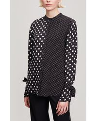 Paul Smith - Tie Cuff Polka Dot Shirt - Lyst