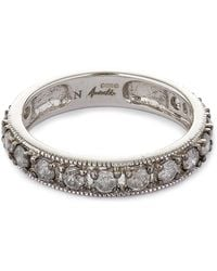 Annoushka - 18ct White Gold Dusty Diamonds Eternity Ring - Lyst