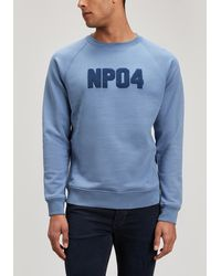 Norse Projects - Ketel Classic Towelling Logo Jumper - Lyst