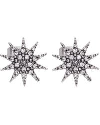 Lulu Frost - Electra Star Stud Earrings - Lyst