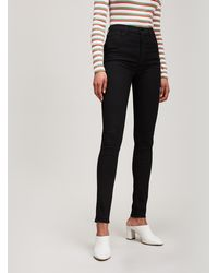 J Brand - Carolina High Rise Skinny Jeans - Lyst