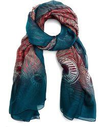 Liberty - Hera 110x130 Silk Chiffon Scarf - Lyst