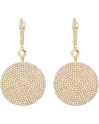 Astley Clarke - Gold Large Icon Diamond Earrings - Lyst