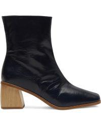 Paloma Wool - Emilia Oak Curved Heel Ankle Boots - Lyst