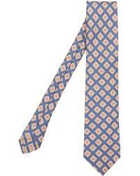 Drake's | Geometric Square Pattern Tie | Lyst
