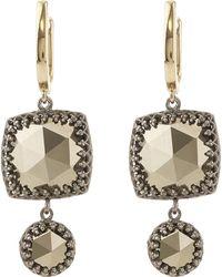 Larkspur & Hawk - Ava Cushion Drop Earrings - Lyst