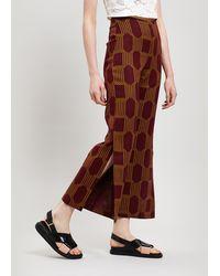 Paloma Wool Sanjuan Geo Print Wide-leg Trousers - Multicolour