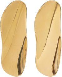 AGMES - Gold Vermeil Max Earrings - Lyst