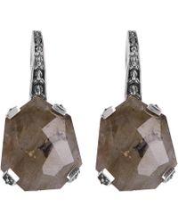 Stephen Dweck - Silver Galactical Labradorite Drop Earrings - Lyst
