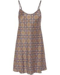 Liberty - Indiana Long Silk Chemise - Lyst