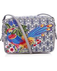 Liberty - Elysian Paradise Embroidered Maddox Cross-body Bag - Lyst