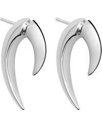 Shaun Leane - Silver Talon Earrings - Lyst