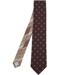 Dries Van Noten - Round Print Silk Tie - Lyst