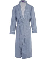 Liberty - Juno Long Tana Lawn Cotton Robe - Lyst