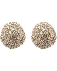 Alexis Bittar - Crystal Encrusted Stud Earrings - Lyst