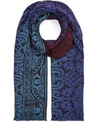 Liberty - Pavilion 70 X 180cm Merino Wool-blend Scarf - Lyst