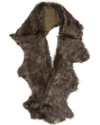 Karl Donoghue - Foxy Toscana Lambskin Button Scarf - Lyst