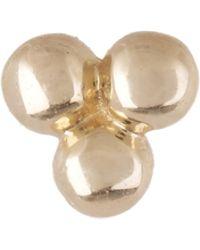 Maria Tash - Diamond Moon Threaded Stud Earring - Lyst