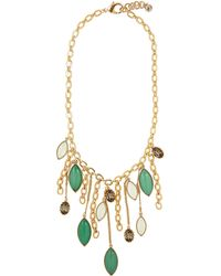 Lulu Frost - Gold-plated Olympic Leaves Statement Necklace - Lyst