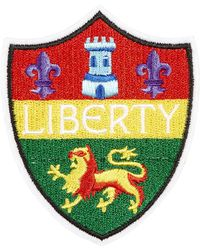 Liberty - Embroidered Crest Sticker Patch - Lyst