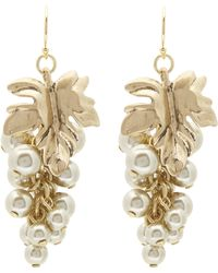 Lulu Frost - Gold-plated Matira Cluster Earrings - Lyst