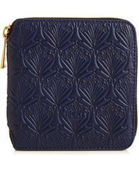 Liberty | Small Wallet In Embossed Leather | Lyst