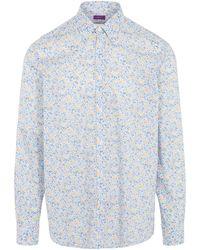 Liberty - Phoebe Print Tana Lawn Cotton Shirt - Lyst