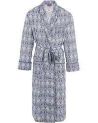 Liberty - Hera Long Tana Lawn Cotton Robe - Lyst