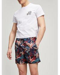 Moncler - Tropical Print Swim Shorts - Lyst