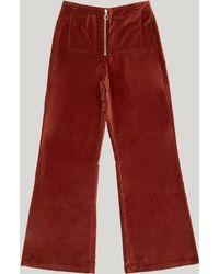 Paloma Wool - Wadi Velvet Flare Trousers - Lyst