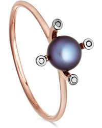 Astley Clarke - Black Pearl Pluto Ring - Lyst