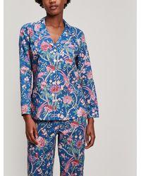 Liberty - Elysian Paradise Tana Lawn Cotton Long Pyjama Set - Lyst