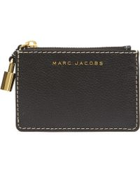 Marc Jacobs - The Grind Top Zip Wallet - Lyst