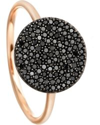 Astley Clarke - Black Diamond Icon Ring - Lyst