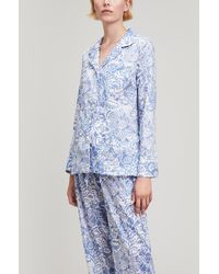 Liberty - Mono Gatsby Tana Lawn Cotton Long Pyjama Set - Lyst