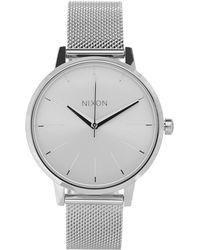 Nixon - Silver-tone Kensington Milanese Watch - Lyst