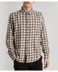 Barbour - Umber Check Shirt - Lyst