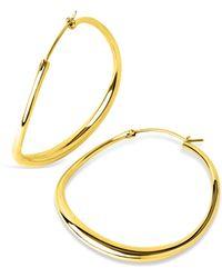 Dinny Hall - Large Wave Hoop Earrings - Lyst