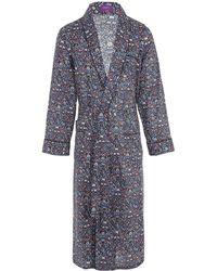 Liberty - Imran Long Tana Lawn Cotton Robe - Lyst