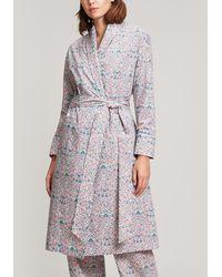 Liberty - Imran Long Cotton Robe - Lyst