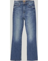 Mother - The Insider Ankle Jeans - Lyst