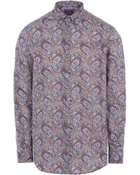 Liberty - Lee Manor Print Tana Lawn Cotton Shirt - Lyst