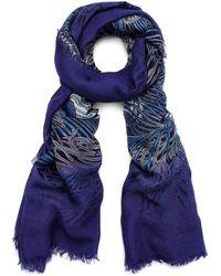 Liberty - Hera 110 X 130 Silk Chiffon Scarf - Lyst