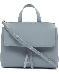 Mansur Gavriel - Leather Mini Mini Lady Bag - Lyst