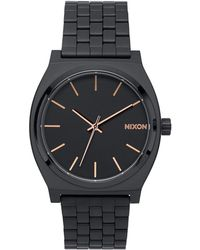 Nixon - Time Teller Stainless Steel Watch - Lyst