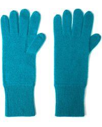 CASH CA - Milled Cashmere Gloves - Lyst