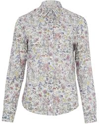 Liberty - Camilla Cotton Shirt - Lyst