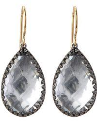 Larkspur & Hawk - Sophia Topaz Drop Earrings - Lyst