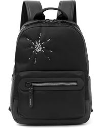 Lanvin Spider Embroidered Backpack - Black